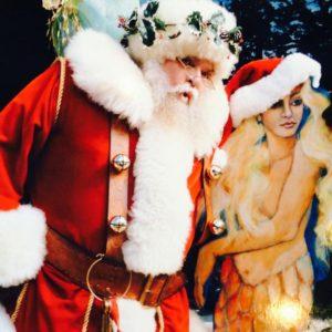 mermaid santa hat Hillyer House