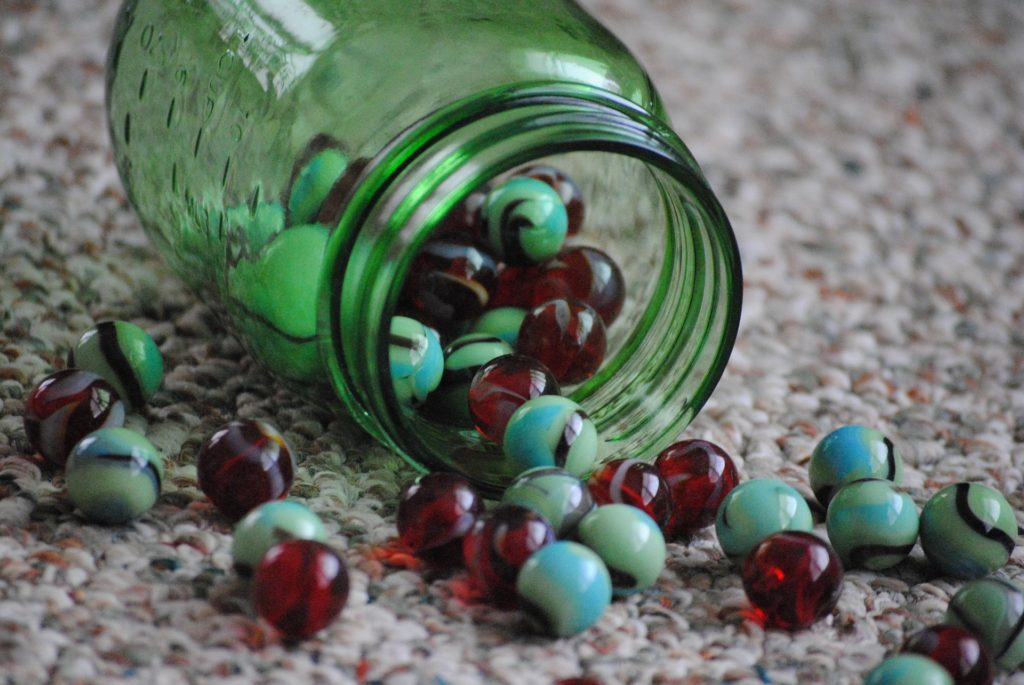 marbles weight loss jar