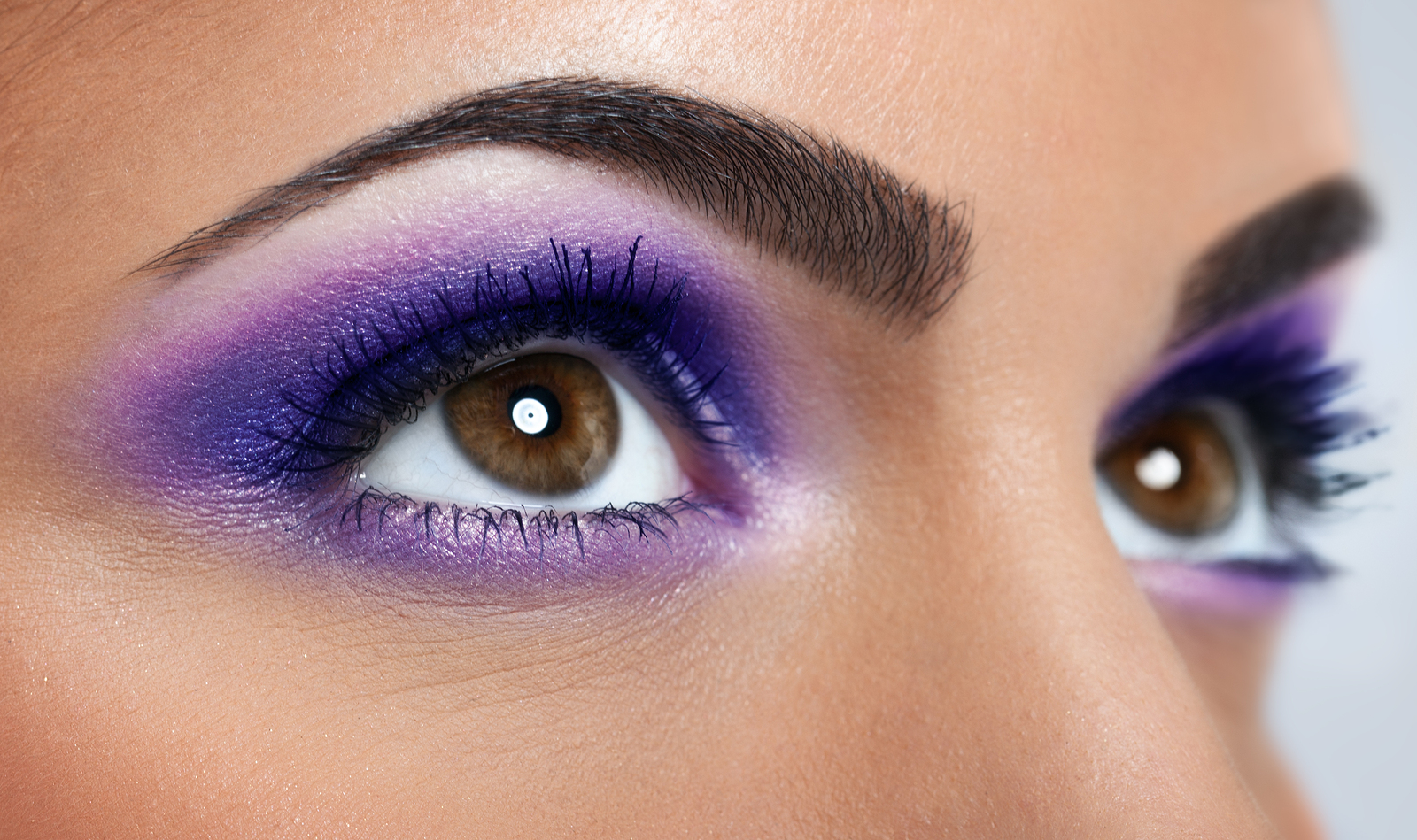 Mardi Gras Makeup Is About Purple Green And Gold